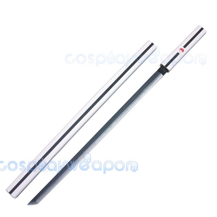 Naruto Sasuke Uchiha Kusanagi Grass Mowing Sword  Ninja White Cosplay Weapon