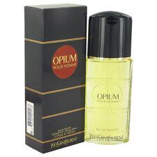 OPIUM  Yves  Saint  Laurent  Cologne  3.4  oz  for  Men  New  in  Box  Sealed
