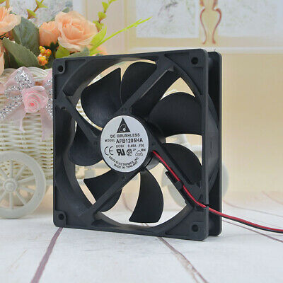 1pcs New Delta 12cm 5vusb 0.45a 12025 Afb1205ha Router 220v Silent Fan