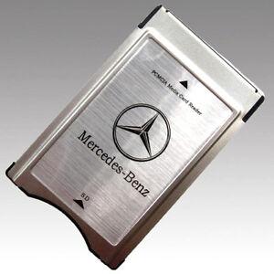 Pcmcia card for mercedes benz s550 for Mercedes benz card