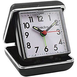 Westclox Analog Quartz Ascending Beep Travel Alarm Clock 44530QA