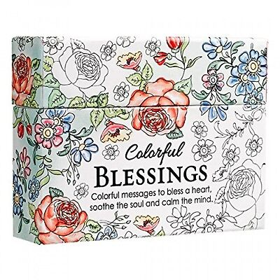 Colorful Blessings Cards to Color and Share