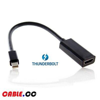 Usado, Cablecc Thunderbolt 2 to HDMI Female Adapter Cable with Audio for MacBook 2015 segunda mano  Embacar hacia Argentina