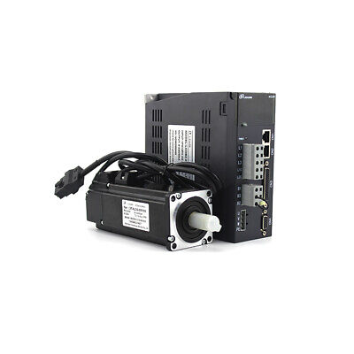 17bit Absolute Encoder 1.91n.m 220v 600w Nema24 60mm Servo Motor And Drive Kit