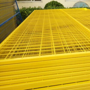 Construction fence - Yellow - FOR SALE