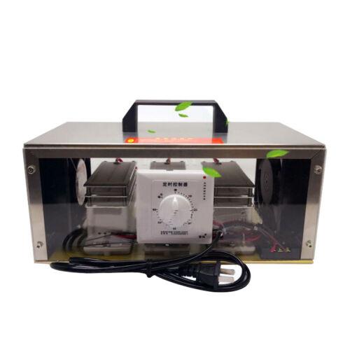 110V 30G Ozone Generator Long Life Type Ozonizer Air Purifier W/ Timer Switch US