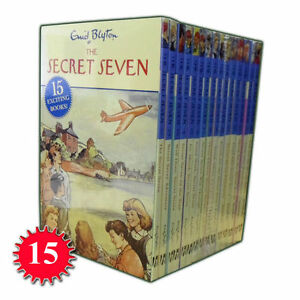 Enid-Blyton-The-Complete-Secret-Seven-Library-15-Books-Set-Collection-Series