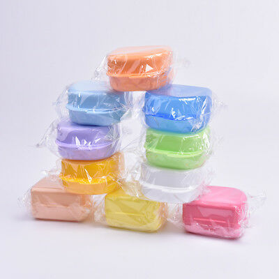 Dental Orthodontic Retainer Box Mouthguard Denture Storage Container 1pc