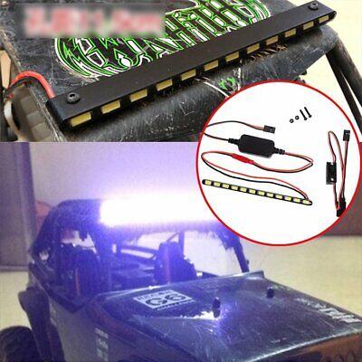 Light Bar-schalter (12 LED Bright Light Lamp Bar+Schalter für 1/10 RC Axial Wraith 90018 90020 90045)
