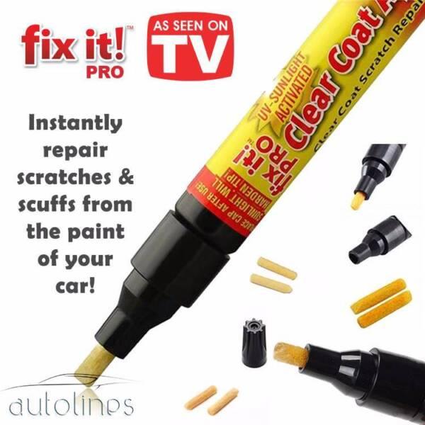 Fix It Pro Clear Coat Car Paint Scratch Remover Painting Repair