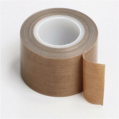 36.5mm X33ft Teflon Tape Ptfe 180um Thicker 662 Adhesive High Temp Fiberglass