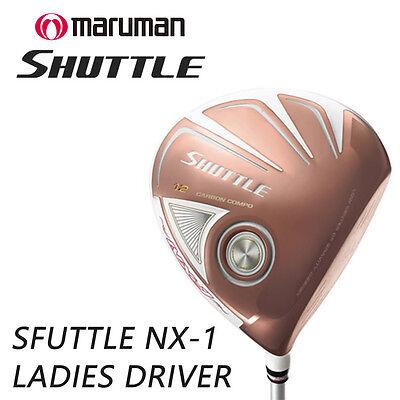 MARUMAN GOLF JAPAN SHUTTLE NX-1 LADIES DRIVER IMPACTFIT MV504 2018c Model