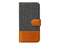 New Genuine Leather Deluxe Fabric Case for Apple iPhone 6/6s, 7 and 8