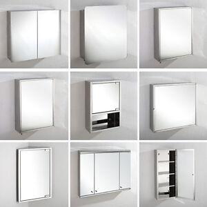 Stainless steel bathroom mirror cabinet corner and wall - Corner wall cabinets for bathroom ...
