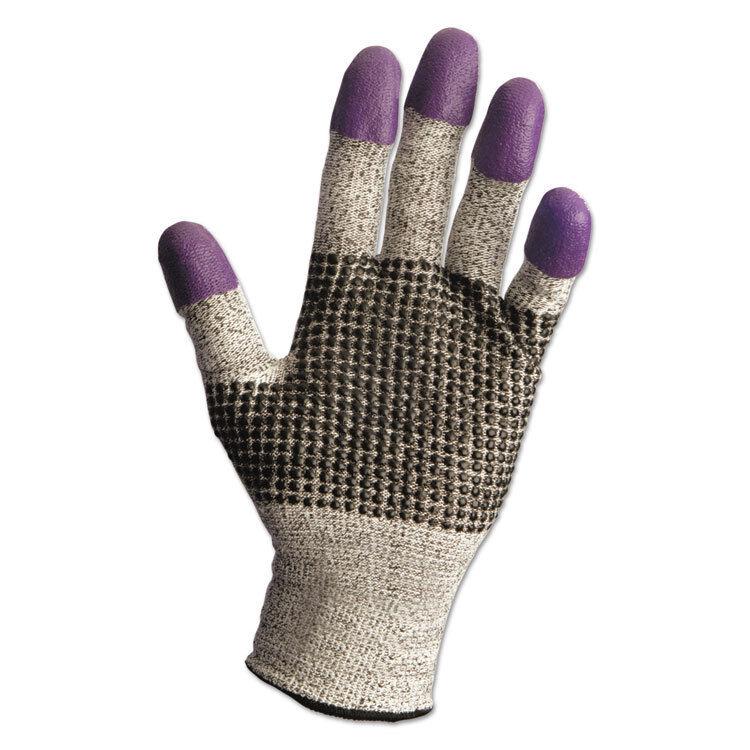 Jackson Safety* G60 Purple Nitrile Gloves Large/Size 9 Black/White Pair 97432