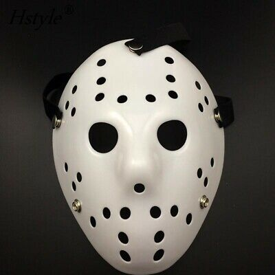 lastik Jason Horror Friday Halloween Kostüm Erwachsene Kinder (Kinder Jason Kostüme)
