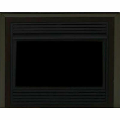 "Majestic DC32FPB 32"" Black Filigree Panels for 400 Series"