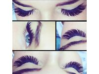 Eyelashes extension,Classic, Light Volume, Russian Volume. Infill 50% OFF