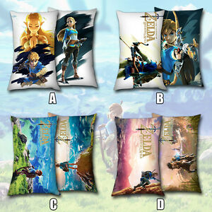 40-60-Game-The-Zelda-Legend-Wild-Breath-Link-Dakimakura-Bedroom-Pillow-Case