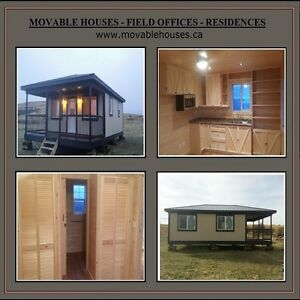 Movable Houses, Oil Field Offices, First Nations Housing,