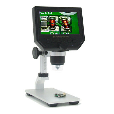 G600 Digital 1-600x 3.6mp 4.3inch Hd Lcd Display Microscope Continuous Magnifier
