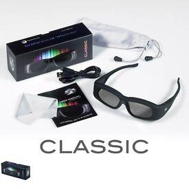2x Bluetooth 3D Glasses