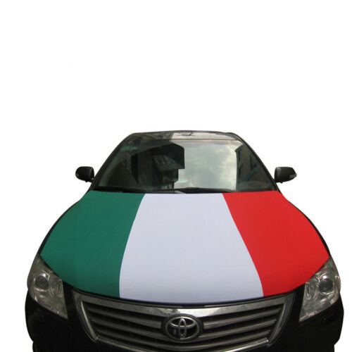 Italy Car Hood Cover 40 x 50 Inches Euro Cup 2020