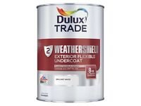Dulux trade exterior white undercoat
