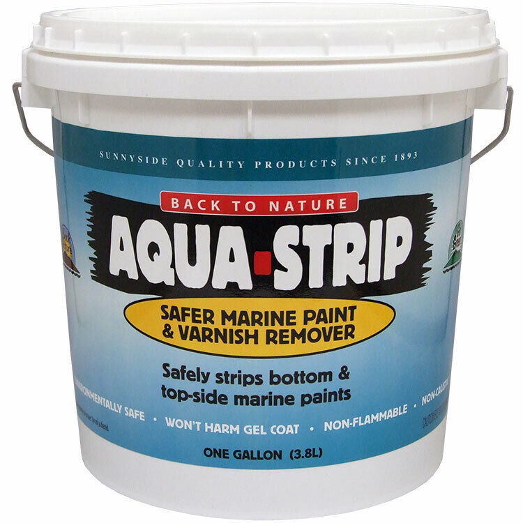 Back to Nature Aqua Strip Safer Marine Paint and Varnish Remover gallon