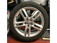 "Audi A6 2011 onward 18"" alloy wheel and tyre"
