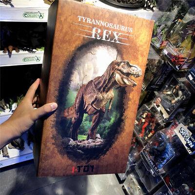 Jurassic World 1 35 Dino King Tyrannosaurus Rex T Rex Dinosaur Pvc Statue New