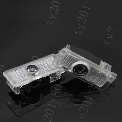 2x Laser LED Door Logo Courtesy Light For Benz W205 C200 C250 C300 C43 C63 Coupe