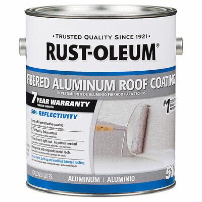 Rust-Oleum 301907 7 Year Fibered Aluminum Roof Coating gal