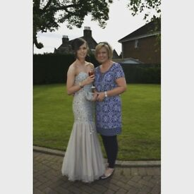 Prom dress from Catherine's of Partick, size 8 - originally £500 perfect condition