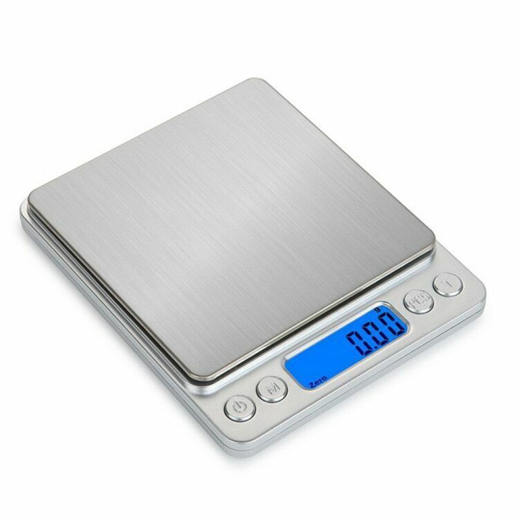 3000g/0.1g Digital Pocket Gram Scale Jewelry Weight Electronic Balance Scale