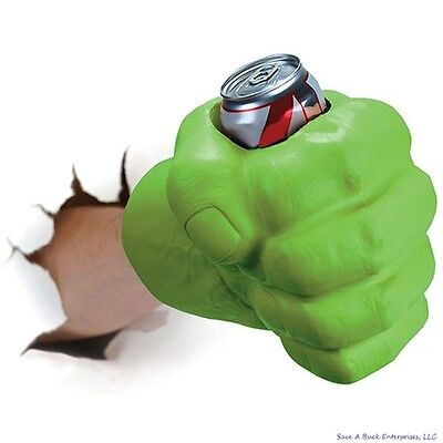 BigMouth THE BEAST GIANT GREEN HULK FIST Drink Beer Holder Foam Cooler - The Hulk Fist