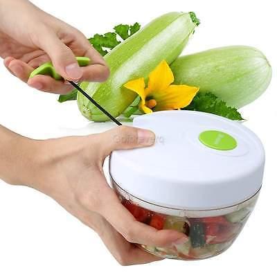 Manuell Multi Zerkleinerer Gemüse Fleisch Zerkleinerer Obst Allesschneider