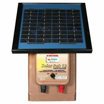 Parmak Magnum 12 Solar Pak Mag12-sp Low Impedance Electric Fence Charger