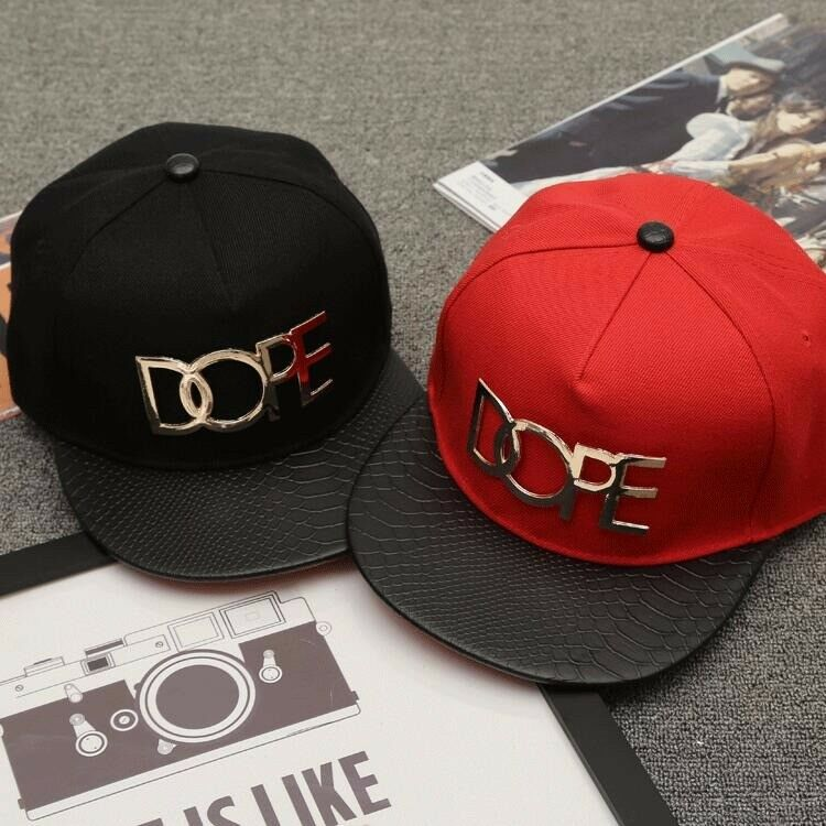 2PIC baseball cap Snapback standard European style metal punk hip-hop baseball cap