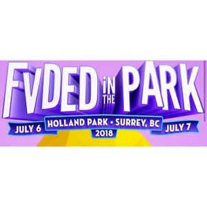 FVDED in the Park Ticket