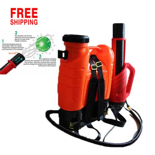 Electrostatic Cordless Backpack Disinfectant Sprayer Sanitizer