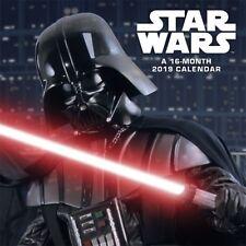 STAR WARS - 2019 WALL CALENDAR - BRAND NEW - MOVIE 894154