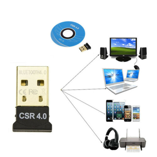 Mini Wireless USB Bluetooth 4.0 Adapter Dongle For PC Laptop Win XP Vista7// 8//10