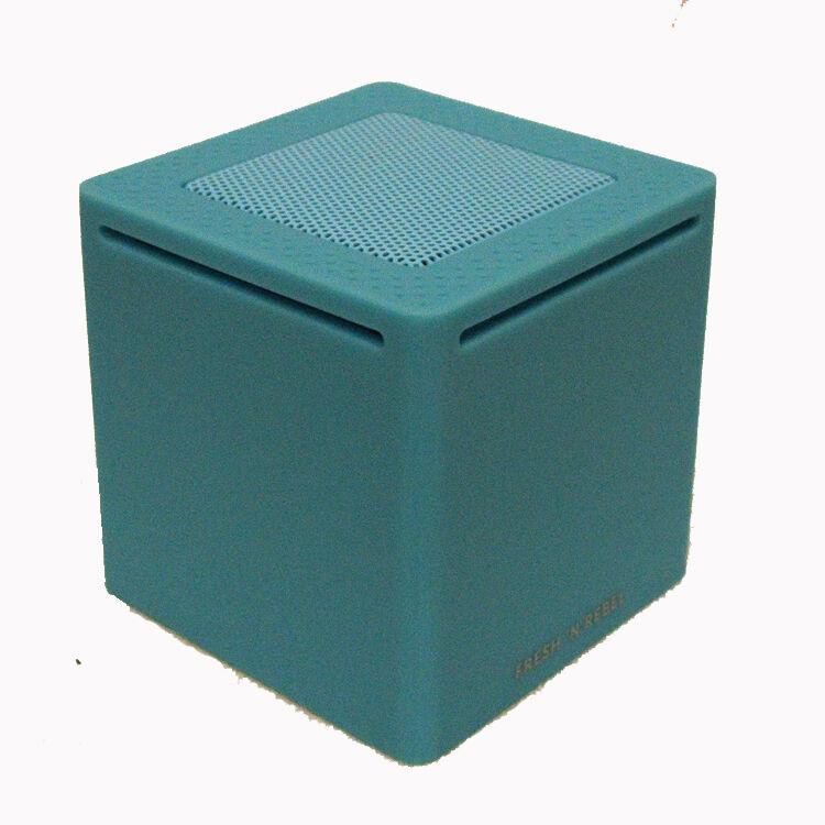 'Rockbox' Cube Bluetooth Portable Speaker - Blue
