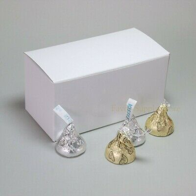Wedding Favor Candy Party Treat Gift Boxes White 4x2x2