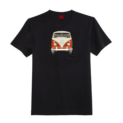 Vw Bus With Peace Sign T Shirt