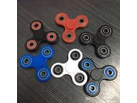FIDGET SPINNERS NEW IN BOX + LED LIGHT SPPINER + GLOW IN DARK SPINNER NEW IN BOX