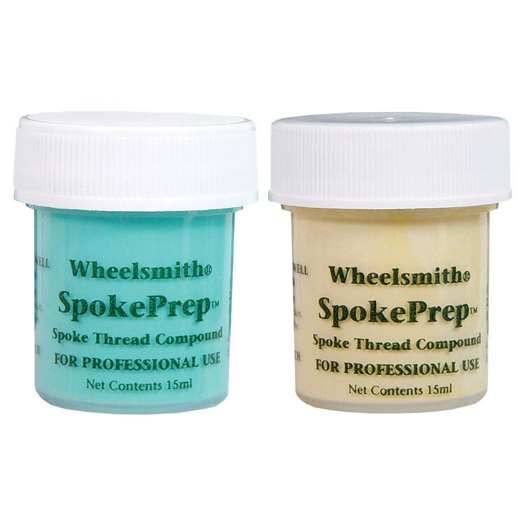 WHEELSMITH BIKE BICYCLE SPOKE PREP SPOKEPREP LUBE ORANGE & BLUE 15ml (2 pcs) NEW