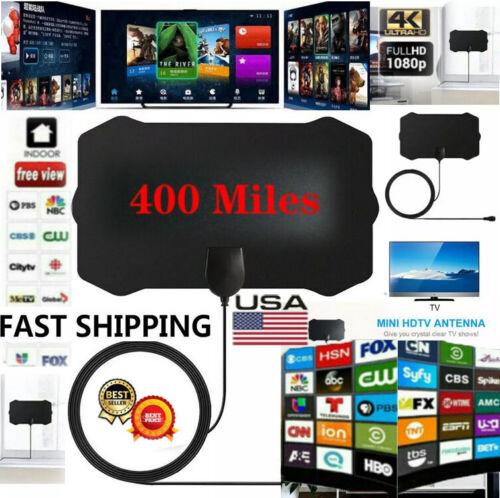 1080P HD 350 Mile Range Antenna TV Digital HD Skywire Antena