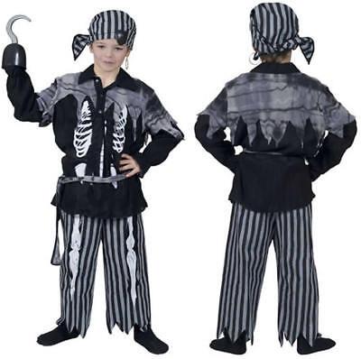 Pirat Greg Kinder Karneval Fasching Kostüm 116
